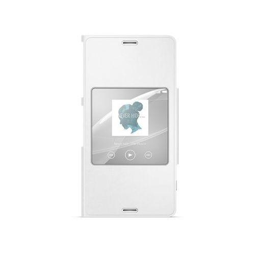 Sony Etui scr26 do xperia z3 copmact biały + darmowa dostawa + odbiór w 800 punktach stacji z paczką! (7311271480235)