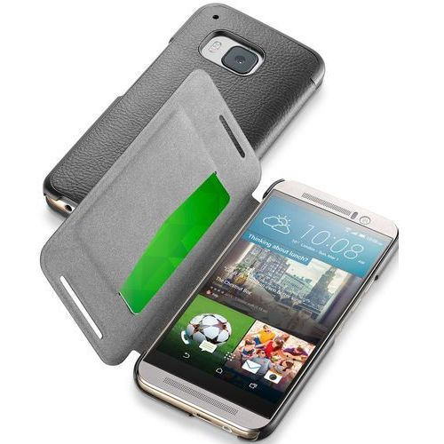 Etui CELLULAR LINE Book Essential do HTC One M9 Czarny, CBOOKESSENM9K
