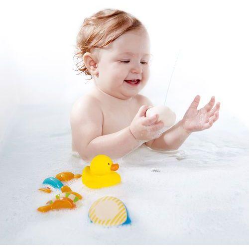 Hape Zabawki kąpielowe Miś i Przyjaciele E0201 (6943478016842)