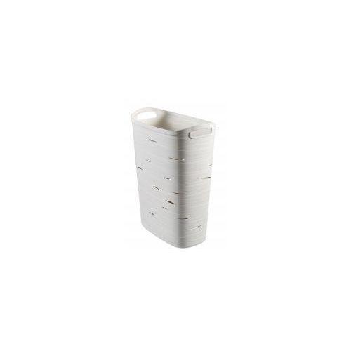 Kosz uniwersalny Curver kremowy Ribbon 49 L, 720085_CURVER