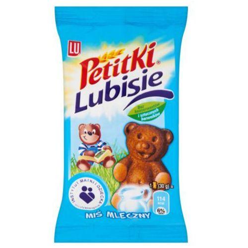 Ciastko biszkoptowe z nadzieniem Petitki Lubisie Miś mleczny 30 g - sprawdź w wybranym sklepie