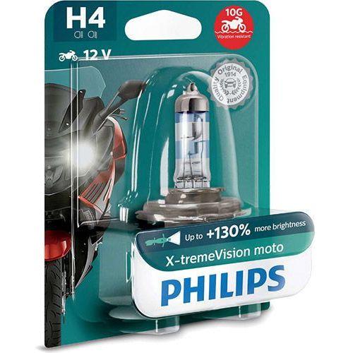 Żarówka motocyklowa h4 x-tremevision moto | 12v 60/55w p43t-38 marki Philips®
