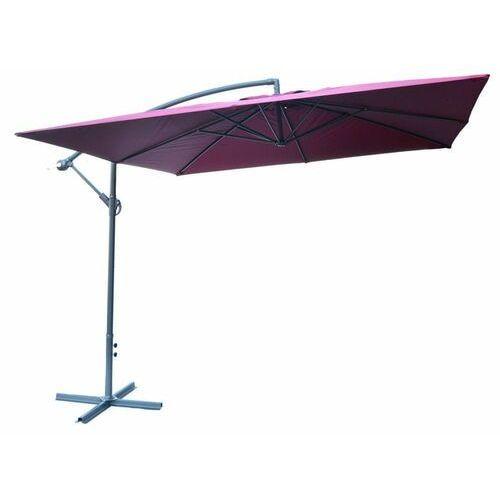 Rojaplast parasol 8080 boczny (270x270cm) bordowy