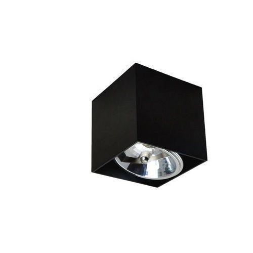 Zuma line Lampa sufitowa spot box czarny 90432 - czarny \ 1