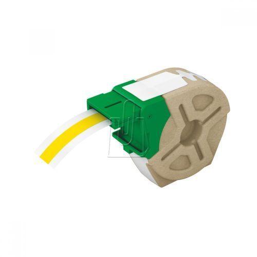 Kaseta z samoprzylepną plastikową taśmą do drukowania etykiet LEITZ Icon 12 mm żółta (4002432104949)