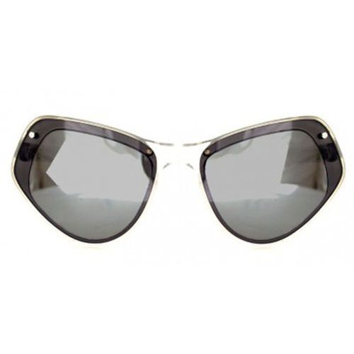 Okulary Słoneczne Spitfire Ultra Select Double Lens Clear/Black/Silver Mirror, kolor żółty