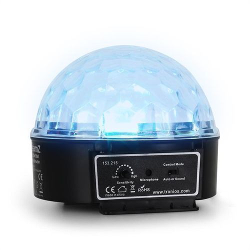 Beamz Mini Star Ball Sound RGBWA LED 6x3W