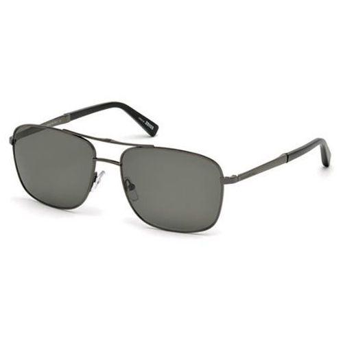 Okulary Słoneczne Ermenegildo Zegna EZ0021 Polarized 08D