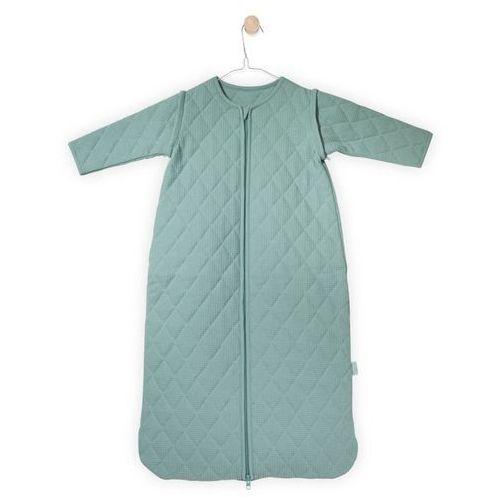 - śpiworek do spania z rękawkami, mini waffle mięta, 0-6 m-cy, 70 cm marki Jollein