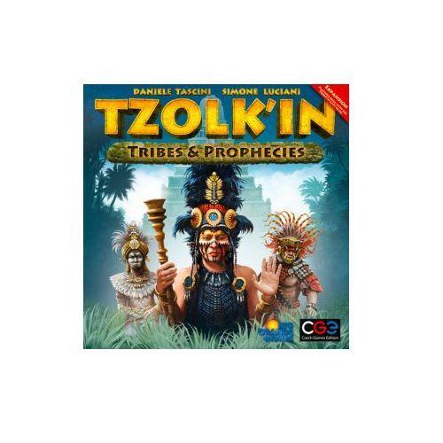 Tzolkin: tribes & prophecies (edycja polska). dodatek do gry planszowej marki Rebel.pl
