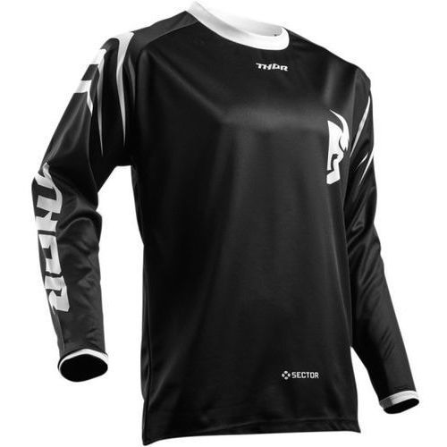 Thor bluza sector zones s8 offroad jersey black =$ marki Thor_2018