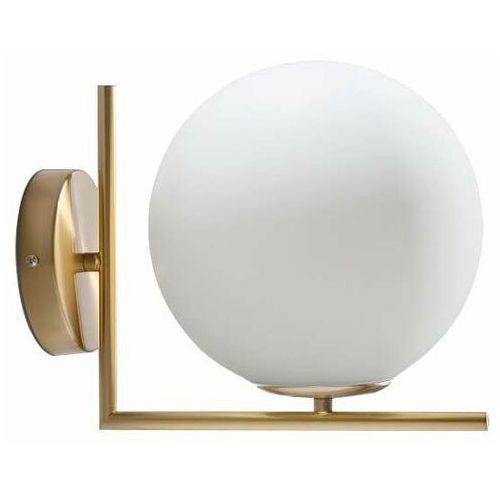 Copel Lampa ścienna cgmlkul20cm szklana oprawa kula ball kinkiet fabio condi cumulus biały złoty (1000000470314)