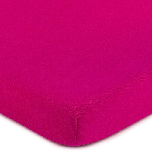 4Home prześcieradło jersey różowy, 140 x 200 cm