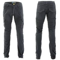 Męskie spodnie na motocykl PMJ Santiago, Szary, 32, kolor szary