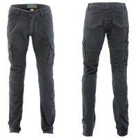 Pmj promo jeans Męskie spodnie na motocykl pmj santiago, szary, 40