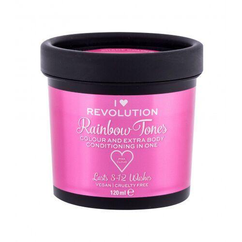 I heart revolution rainbow tones farba do włosów 120 ml dla kobiet pink cloud