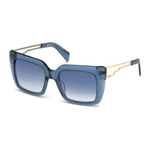Okulary Słoneczne Just Cavalli JC 792S 55B, kolor żółty