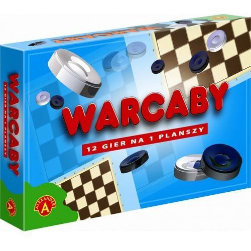 Warcaby 12 Gier na planszy, AM_5906018013788
