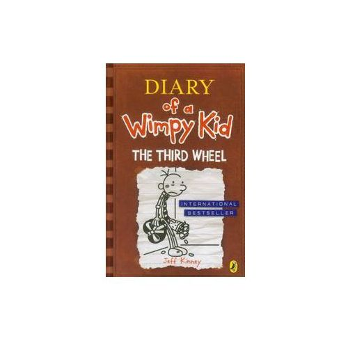 Diary of a Wimpy Kid: The Third Wheel (Book 7) (240 str.)
