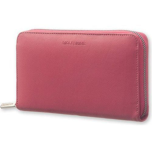 Portfel Moleskine Zip Wallet Lineage Honeysuckle Pink