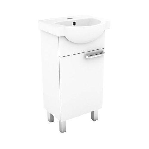 Zestaw szafka z umywalką 45 KOŁO FREJA (5906976491642)