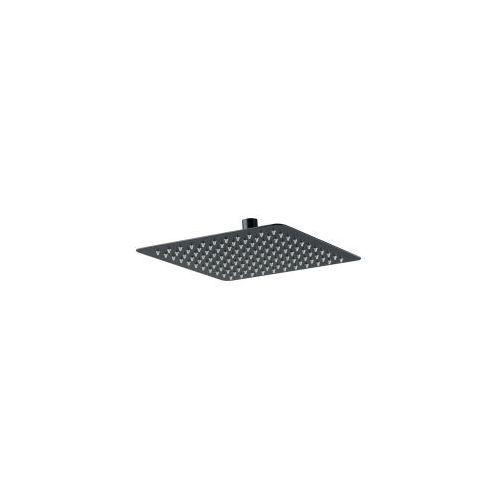 Deante floks deszczownica głowica natryskowa kwadratowa cienka slim czarna 300 mm x 300 mm nac 209k