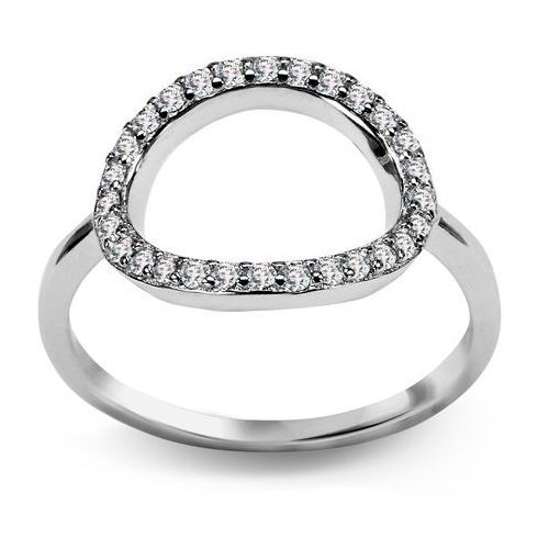 0b8a4780754bb5 Biżuteria yes Scarlett - srebrny pierścionek z cyrkoniami ...