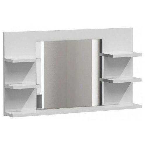 Lustro łazienkowe Ixelo 2X - białe, LUMO L5 BIEL MAT