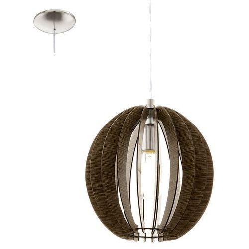 Eglo Cossano 94635 lampa wisząca drewno (9002759946357)