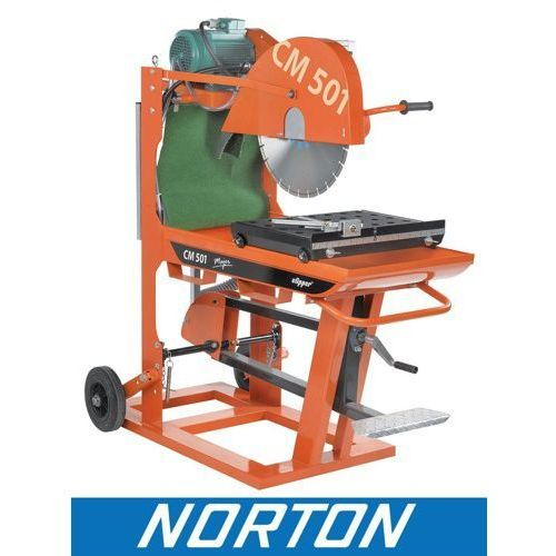 Norton clipper holandia Piła pilarka przecinarka stołowa stolikowa do kostki budowlana norton clipper cm501 3.55.3 major ewimax (5450248371762)