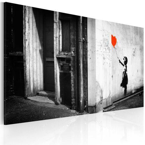 Artgeist Obraz - dziewczynka z balonikiem (banksy)