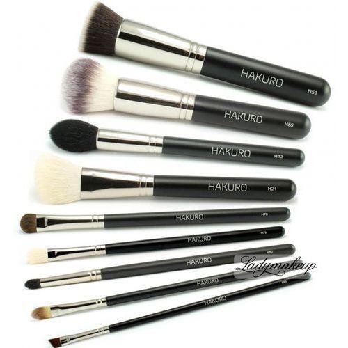 - zestaw 9 pędzli do makijażu marki Hakuro - OKAZJE