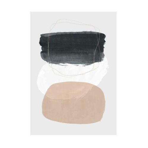 Kanwa akwarela abstrakcja iii 70 x 100 cm marki Art canvas