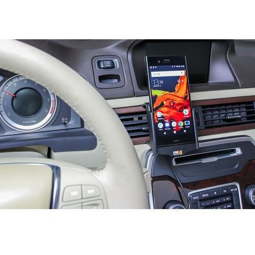Uchwyt do Sony Xperia XZ1 z wbudowaną ładowarką samochodową do profesjonalnego montażu (7320287270082)