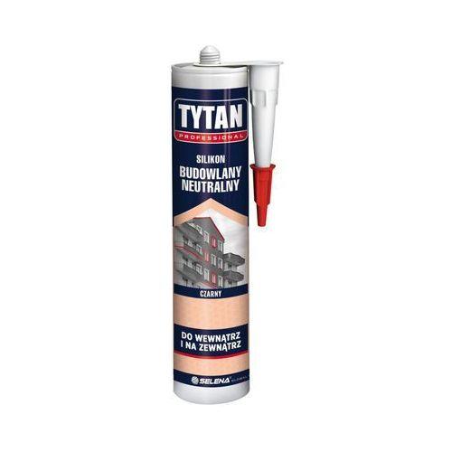Tytan Silikon budowlany neutralny 280 ml czarny