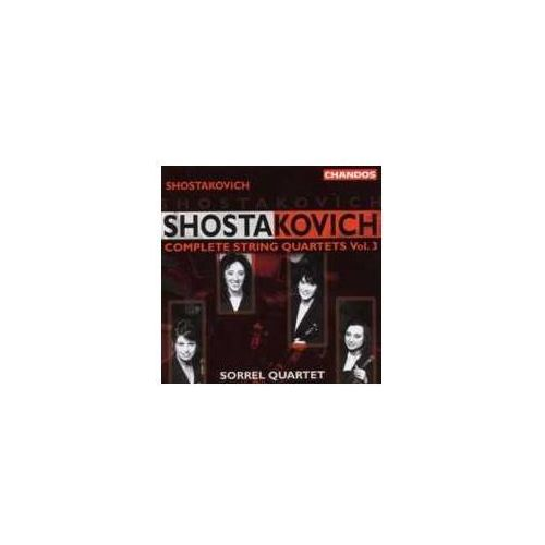 Shostakovich Complete String Quartets Vol. 3 (0095115995525)