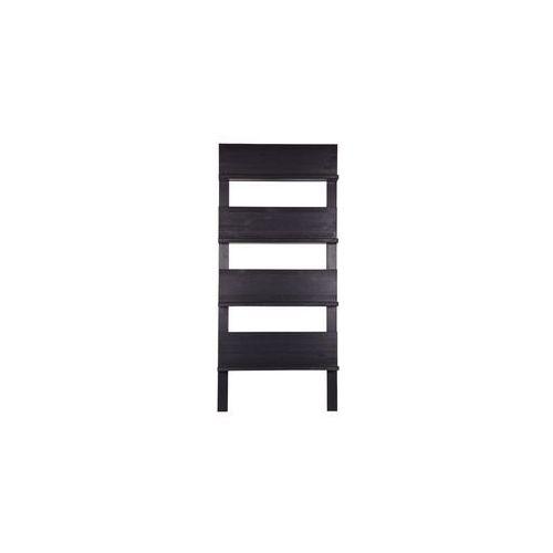 :: półka (regał) 101 na czasopisma / książki - czarny marki Woood