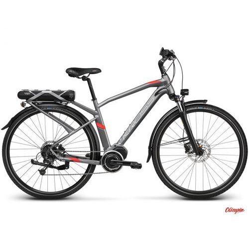 Rower Kross TRANS HYBRID 3.0 Grafitowy/czerwony mat 2018