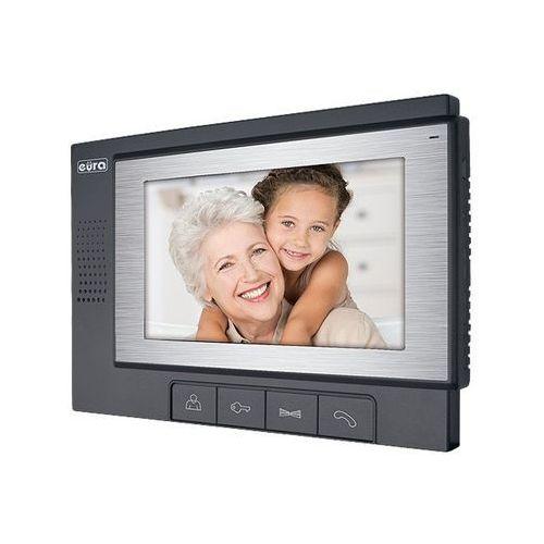 Monitor ''EURA'' VDA-02A3 ''EURA CONNECT'' - ekran 7'', otwieranie 2 wejść - Rabaty za ilości. Szybka wysyłka. Profesjonalna pomoc techniczna. (5905548272306)