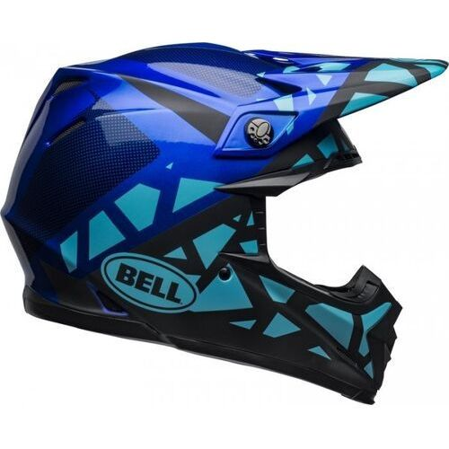 BELL KASK OFF-ROAD MOTO-9 MIPS TREMOR BLUE/BLACK