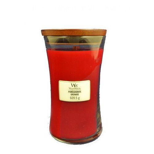 świeca zapachowa pomegranate 609,5 g duża marki Woodwick