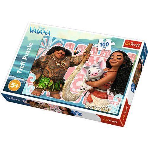 Disney Puzzle 100el vaiana i przyjaciele 16298 trefl (16298 trefl) (5900511162981)