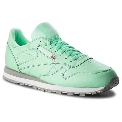 Buty Reebok - Cl Leather Mu CN5382 Digital Green/White/Grey