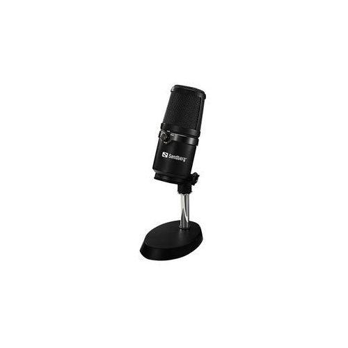 Sandberg studio pro - mikrofon - czarny
