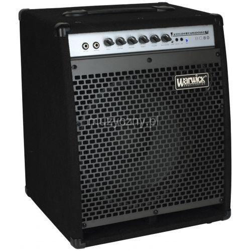 Warwick bc-80 wzmacniacz basowy combo 80w głośnik 12″