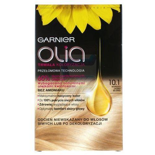 Garnier Olia farba do włosów bez amoniaku bardzo jasny blond nr 10.1 (3600541298569)