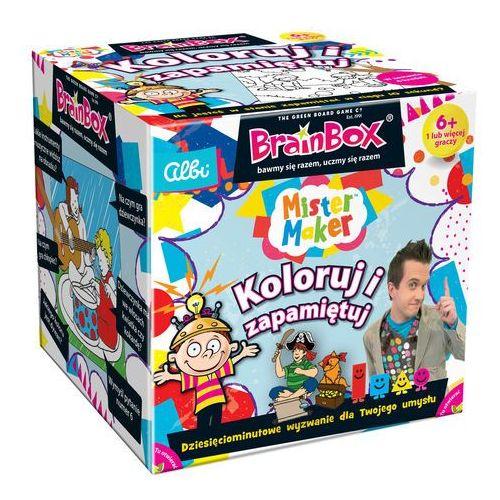 Brainbox koloruj i zapamiętaj - marki Albi