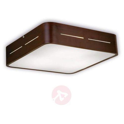 Lampa sufitowa TERRY z brązowym aluminium