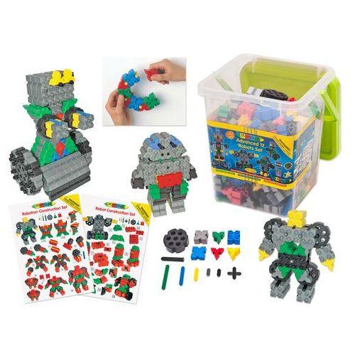 Klocki konstrukcyjne Morphun 12 Robotów 465 el.