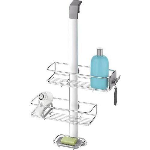 Simplehuman Półki prysznicowe regulowane